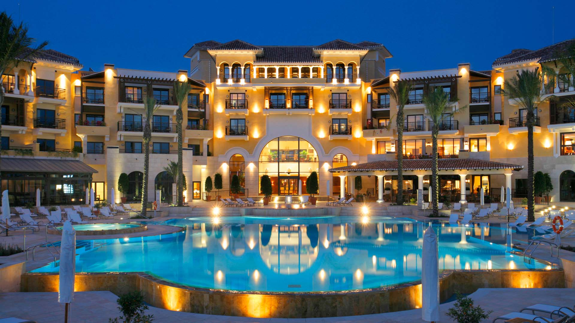 InterContinental Mar Menor, hotel, night