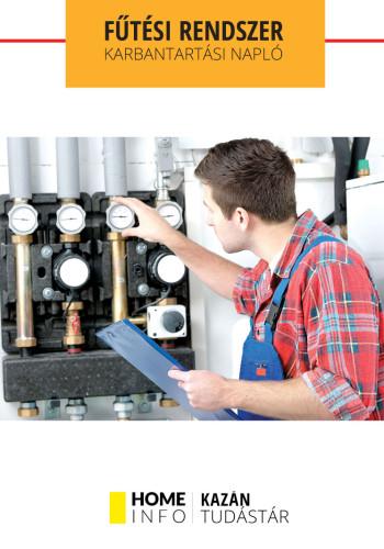 Fűtési rendszer karbantartási napló